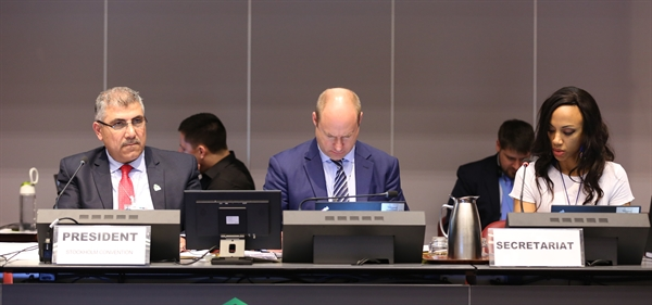 Meeting report from the recent Stockholm Convention COP now available